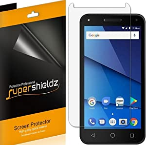 (6 Pack) Supershieldz for BLU Dash L5 LTE Screen Protector, High Definition Clear Shield (PET)