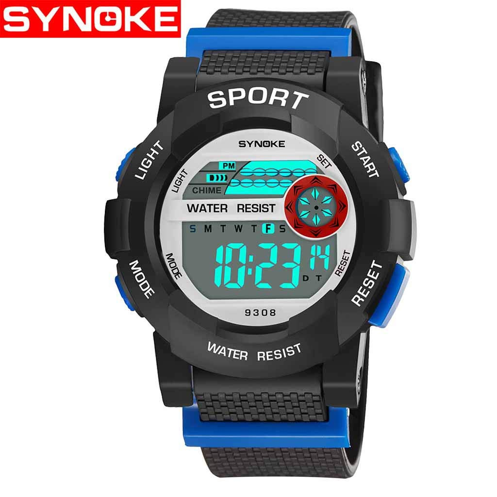 Amazon.com: Mikkar Reloj digital deportivo para niños ...