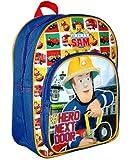 Fireman Sam - New Design! Backpack / School Bag / Rucksack with Front Pocket