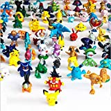 LEXSmith 144 Pcs Anime Figure, Mini Action Figures...