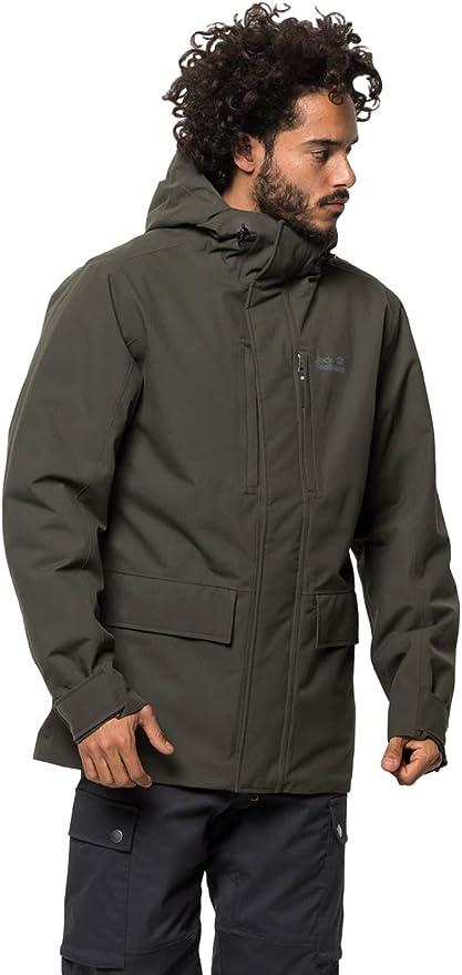 Jackwolfskin 狼爪 West Coast 防水防风透气 男式户外保暖夹克 S码3.3折$66.28 海淘转运到手约¥532