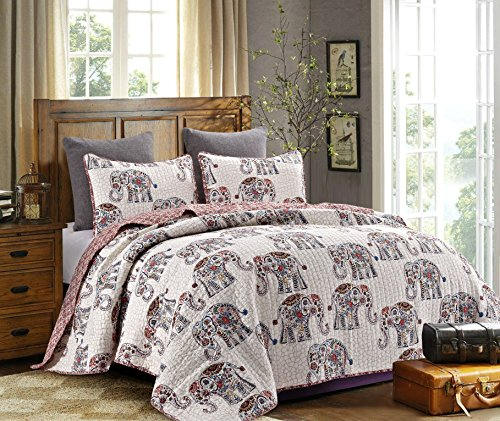 Elephant Comforter Set Queen Amazon Com