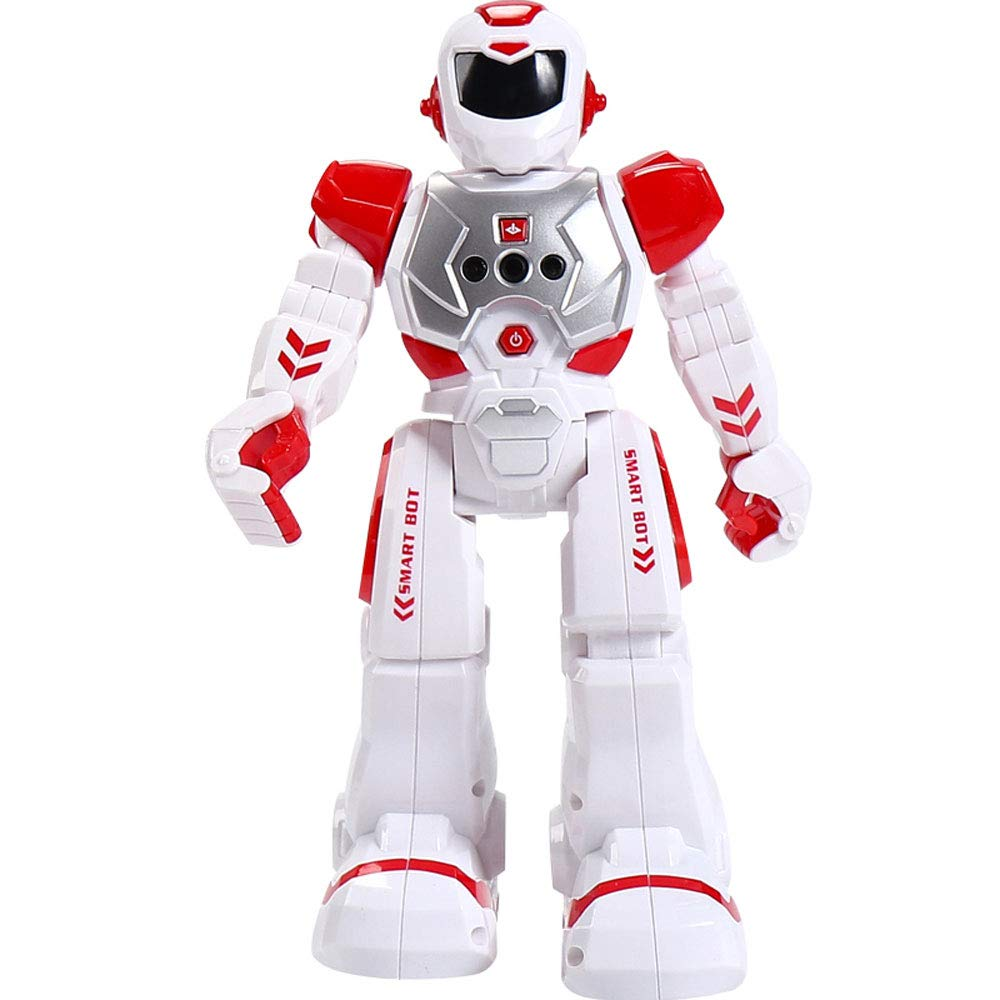 caliente Nianle Autoprogramación Robot Toy Robocop Walks Glides Glides Glides Singing Dance Recargable con LED Intermitente Luces y Sonidos Regalo de Juguete Inteligente Creativo para Niños  al precio mas bajo
