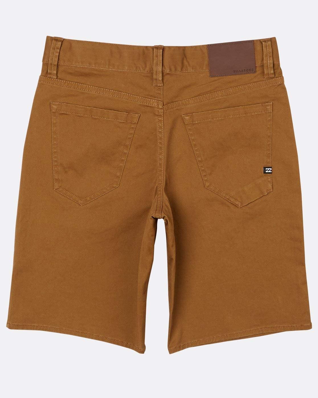 Boys Braun Walkshort Billabong/™ Boys Outsider 5 Pocket Walkshort 8