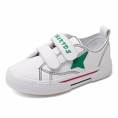 Unisex Kids Flat Shoes School Fashion Boys Girls Velcro Sneakers Lightweight Running 4-16 Jahre Kinder Trainer