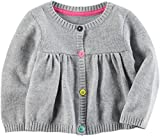 Carters Baby Girls Button Up Sweater 12 Months