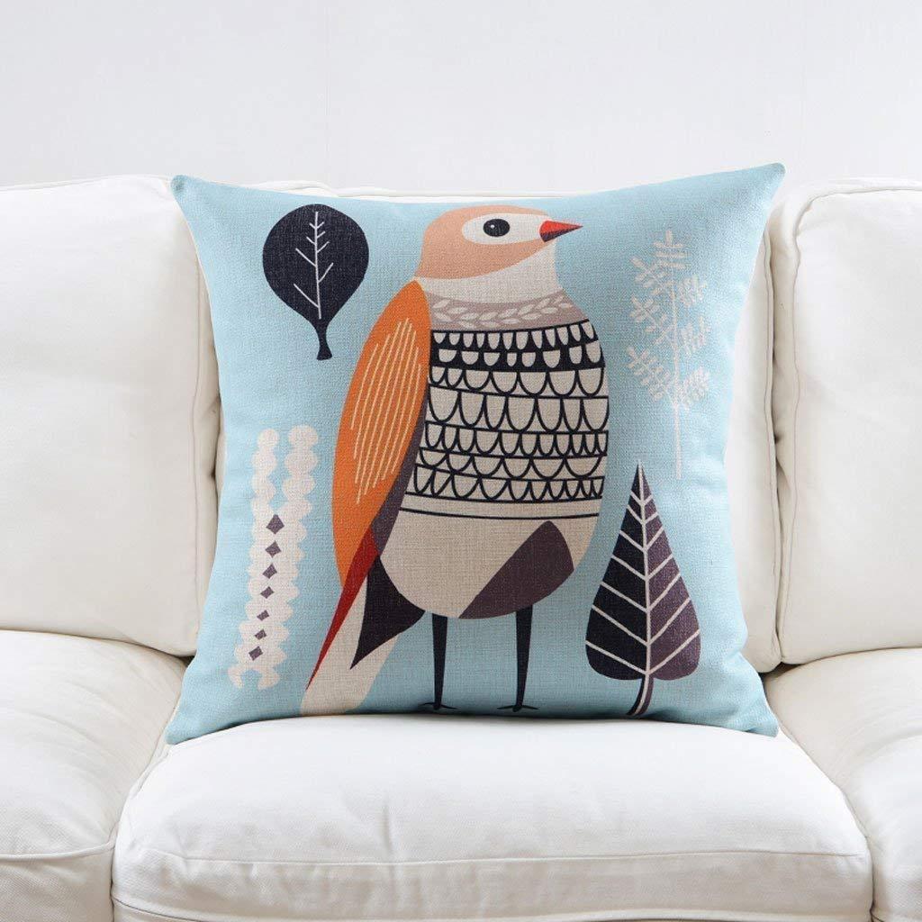 Creative Kissenbezug für Sofa Schlafzimmer, Gestreifte U-förmige Kissen im europäischen und amerikanischen Stil bevorzugt PP-Baumwollbürokopf-Nackenkissen Fernreisekissen (Farbe  schwarzer Streifen) B07LG2MPFZ Kopfkissenbezüge
