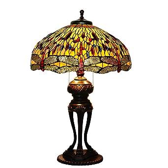 Lámparas de escritorio, multi-pantalla Tiffany-Style lámpara ...