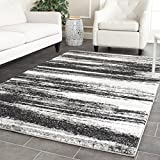 Safavieh Retro Collection RET2693-8479 Modern Abstract Dark Grey and Light Grey Area Rug (3′ x 5′) Review