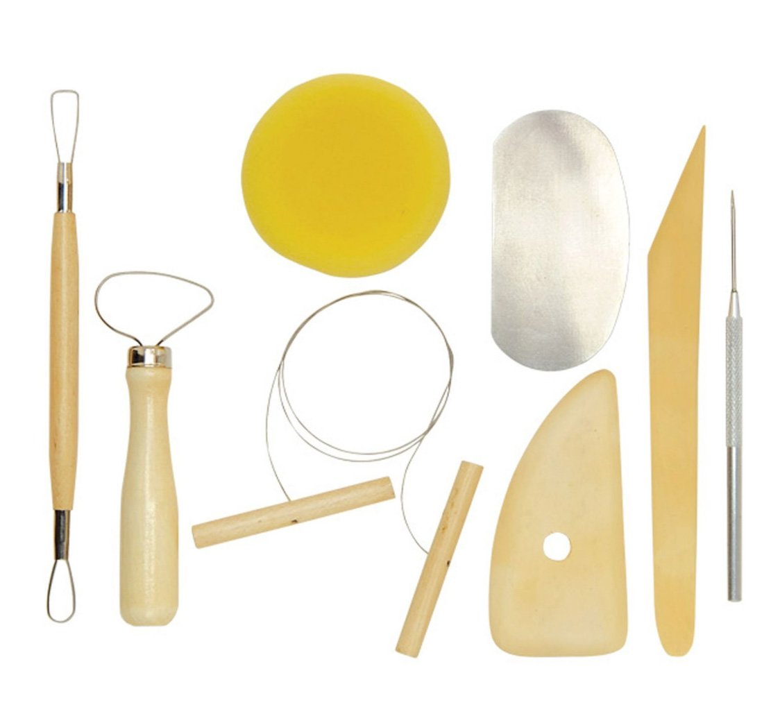 Amazon.com: The Essential Pottery Tool Kit Art Alternatives AA16201 ...