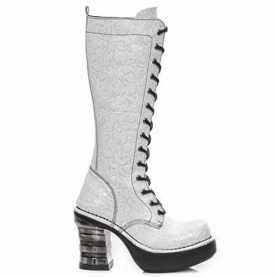 New Boots Punk C1 Damen Stiefel M Rock 8321 Hardrock Gothic W9EIHYD2eb