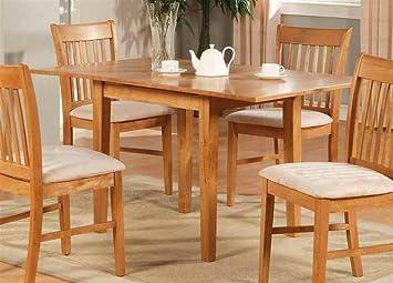 Amazon.com: Norfolk rectangular mesa de comedor: Kitchen ...