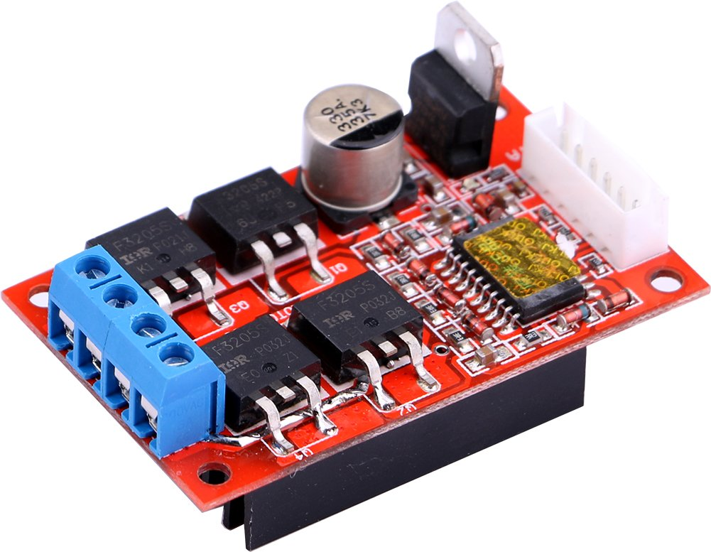 Yeeco PWM Controller Reversible High Power 2 Way DC Motor Driver Board Module H-bridge DC 11-36V 12V/24V/36V 450W by Yeeco