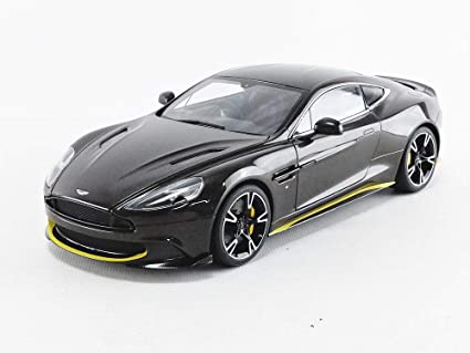 Amazon Com 2017 Aston Martin Vanquish S Kopi Bronze With Carbon Top 1 18 Model Car By Autoart 70273 Toys Games