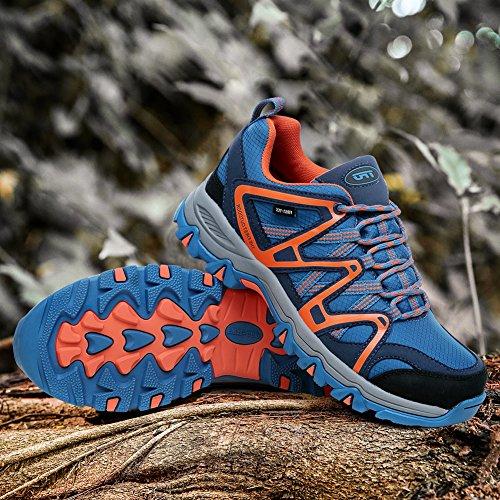 EN Naranja Escalada Impermeables Zapatillas Azul el Bajo de País TFO de Transpirables Correr Para Antideslizantes Senderismo Hombre Para Nivel Para Todo Wq8pU1pRwH