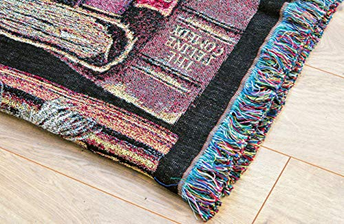 Pure Country Weavers''Frederick The Literate Blanket'' Tapestry Throw by Pure Country Inc. (Image #3)