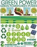 Green Power Decal (D)