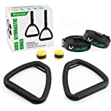 MUEUSS Children Gymnastic Rings Kids Gym Rings with Adjustable Straps