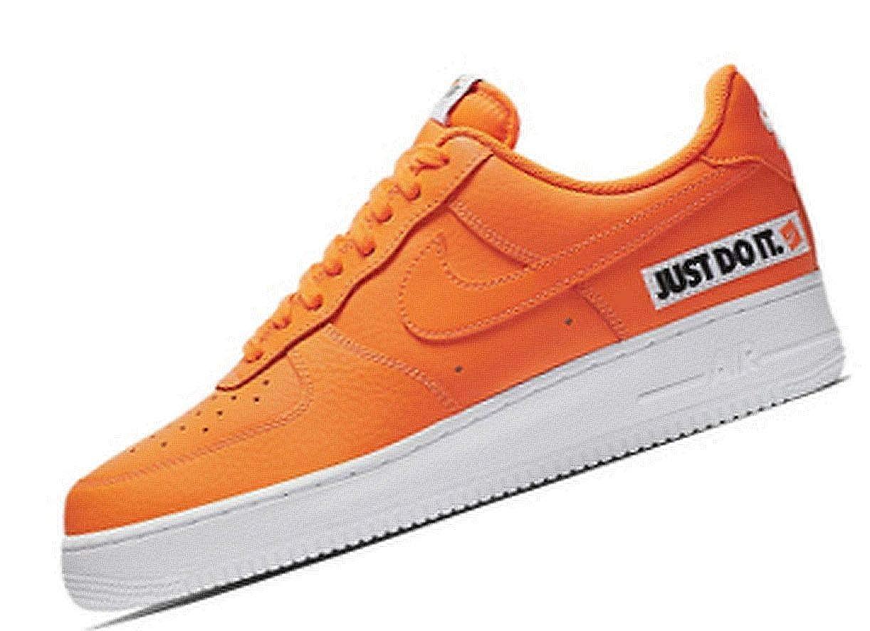 Nike Herren Air Force 1 '07 Lv8 Turnschuhe JDI Turnschuhe Lv8 Mehrfarbig Total Orange Weiß schwarz 001, 40 EU ee109c