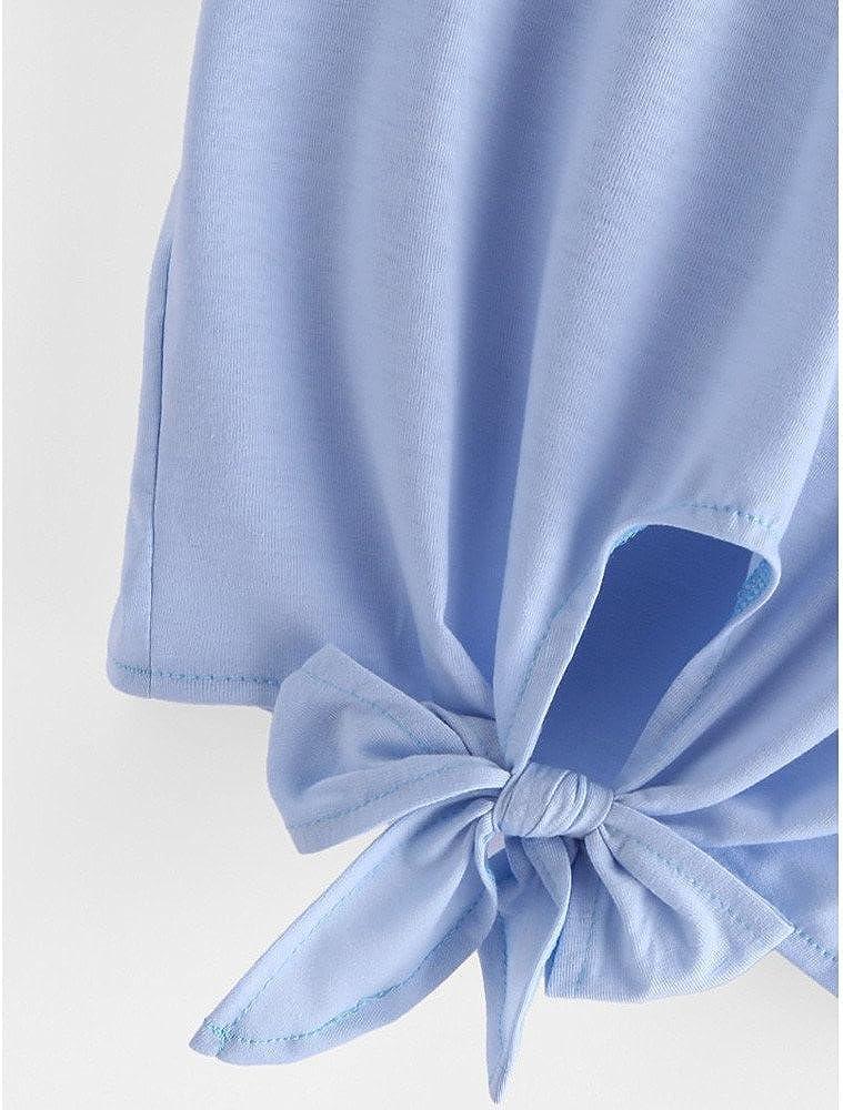 Portazai Women Crop Tops Tee Shirts Dragon Print Short Sleeve Blouses Casual Tunics Tank Tops