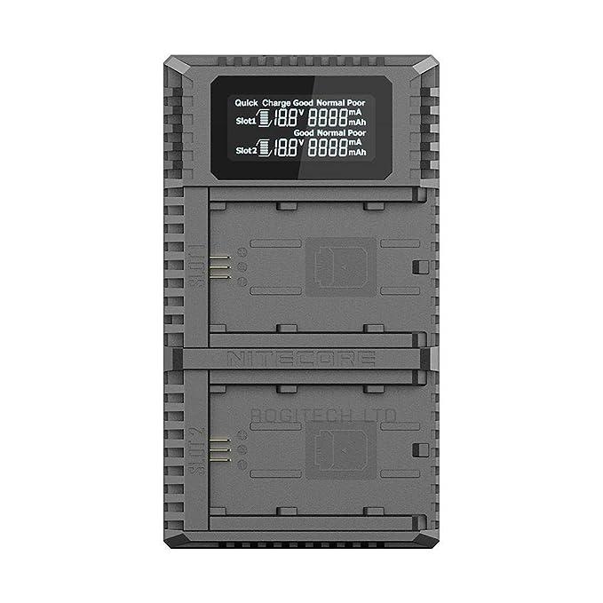 Nitecore Dual-Ladegerät f. Sony USN4-PRO: Amazon.es: Electrónica