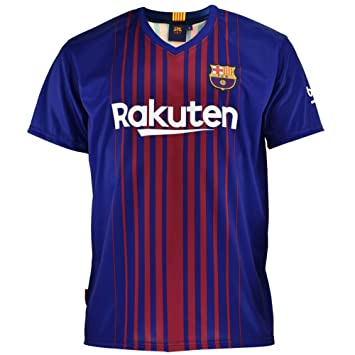 8d33801f2 Camiseta FC Barcelona Messi replica oficial Infantil + Regalo Bolígrafo  (12)  Amazon.es  Deportes y aire libre