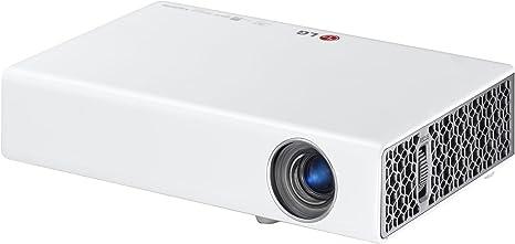 """LG PB60G - Proyector 3D (500 lúmenes, 0.45"""" DMD, 1280x800, 2x1W ..."""