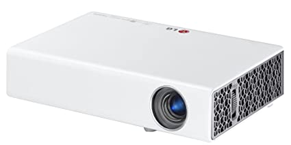"""LG PB60G - Proyector 3D (500 lúmenes, 0.45"""" DMD, 1280x800, 2x1W RMS, 60W), Blanco"""