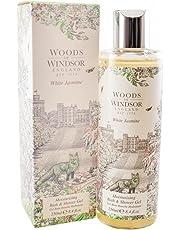Woods Of Windsor White Jasmine Moisturizing Bath & Shower Gel for Women, 8.4 fl. Oz.