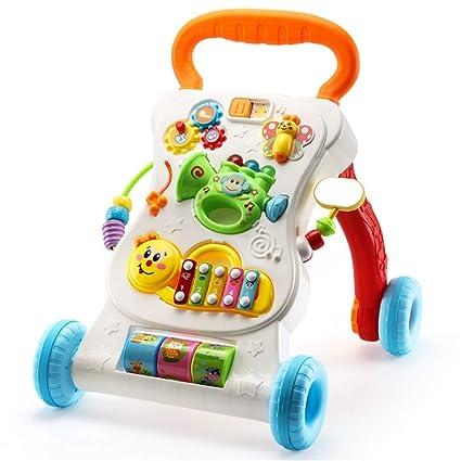 Andador de bebé de primer paso Baby Walker y centro de juego ...