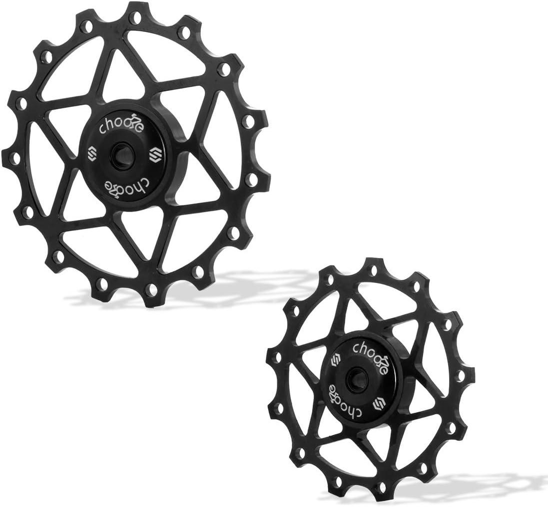 Road Bicycle Derailleur 13T Tooth Bike Rear Derailleur Jockey Wheel Pulley LIN