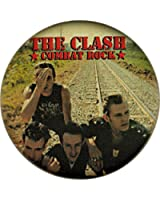 Clash Combat Rock Group on Railroad Button / Pin