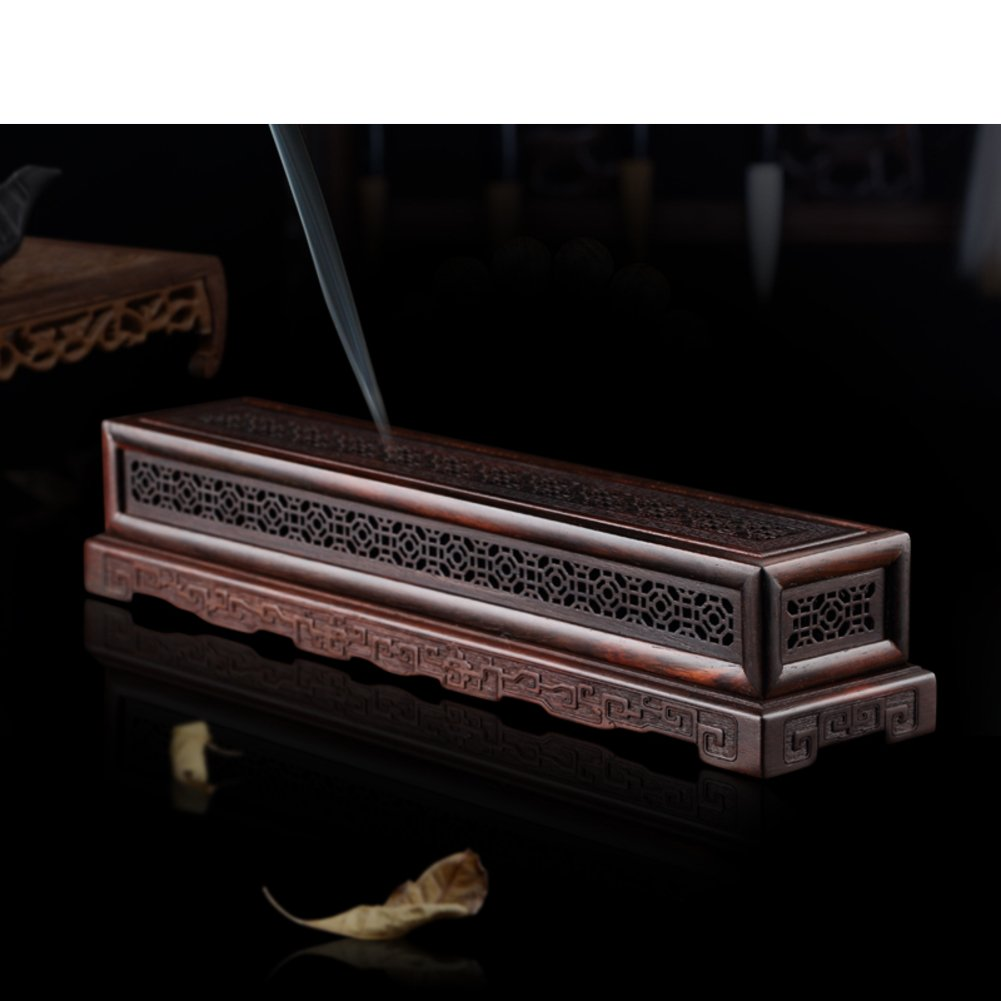 SOFT Duvet Covers Redwood/Ebony purple sandalwood incense boxes/bamboo incense stick furnace/incense burners-B