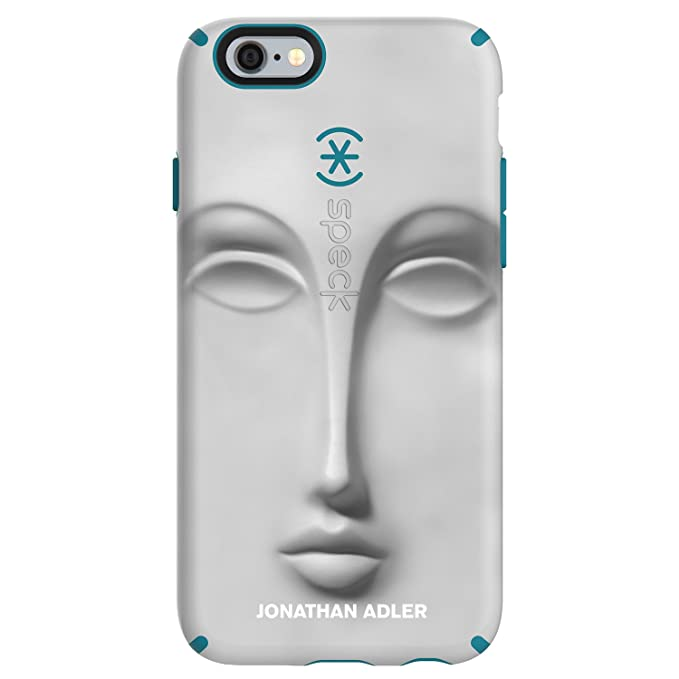 best service 75dc1 83455 Speck Products CandyShell Inked Jonathan Adler Cell Phone Case for iPhone 6  Plus/6S Plus, DoraMaar/Peacock Matte