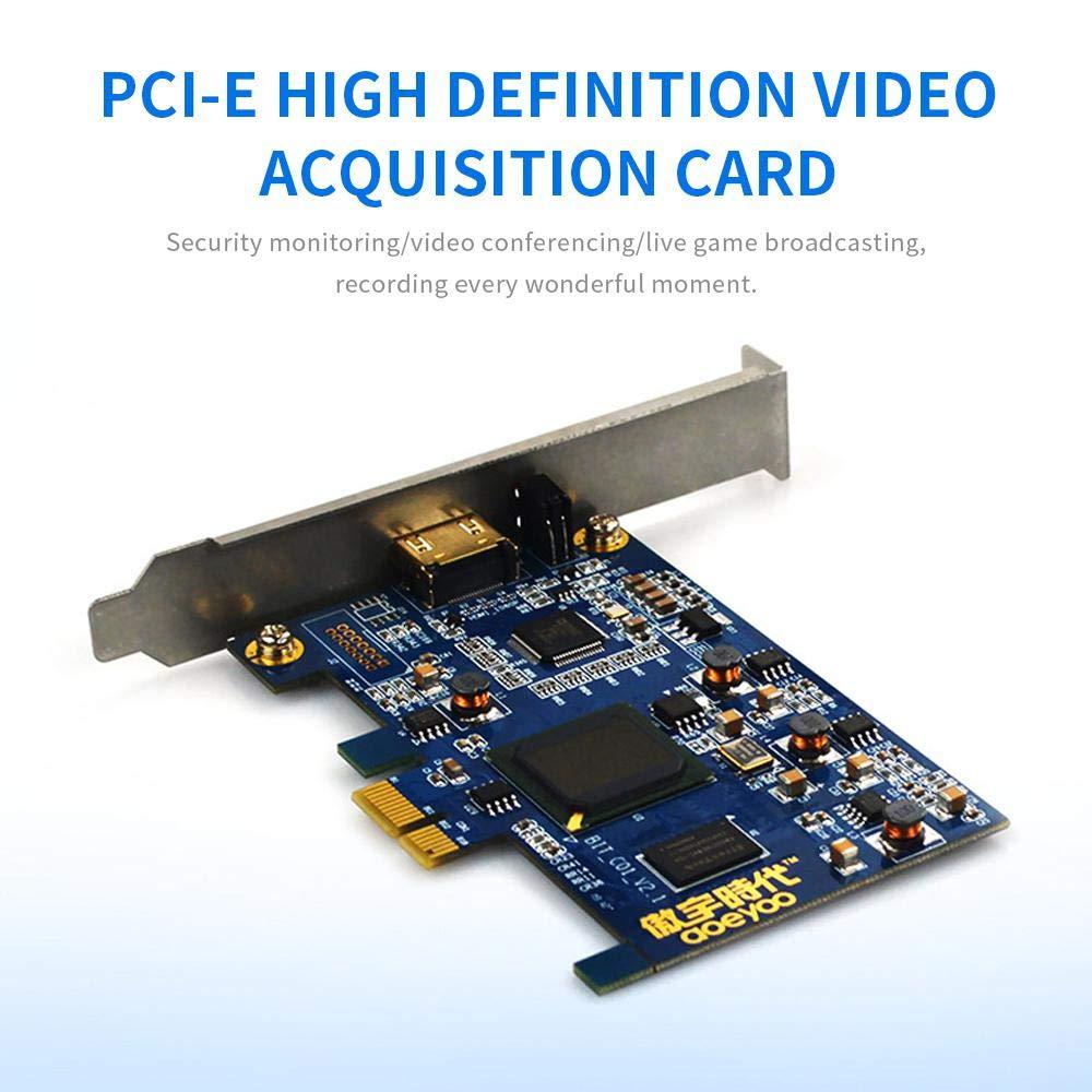 Lesgos Tarjeta de Captura de Video PCI-E 4K, Tarjeta de ...