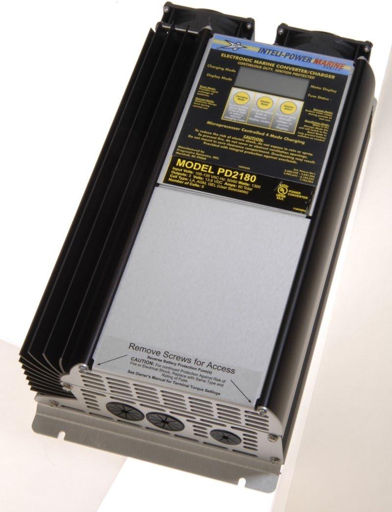 Progressive dinámica pd2180 V 12 Volt 80 Amp Marino conversor de batería: Amazon.es: Deportes y aire libre