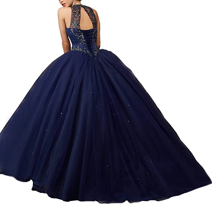 Womens Ball Gown Quinceanera Dress Vestidos De 15 Anos with Bolero at Amazon Womens Clothing store: