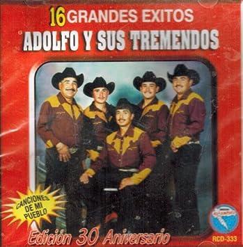 Adolfo Y Sus Tremendos - Adolfo Y Sus Tremendos (16 Grandes Exitos) Rcd-333 - Amazon.com Music