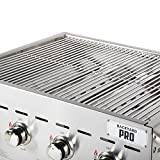 TableTop King C3H830 30'' Stainless Steel Outdoor Grill