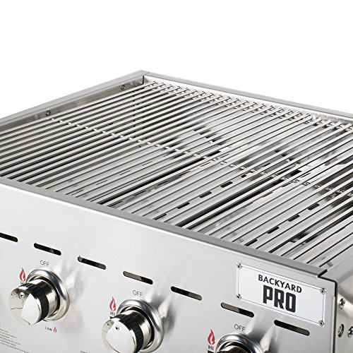 TableTop King C3H830 30'' Stainless Steel Outdoor Grill by TableTop King