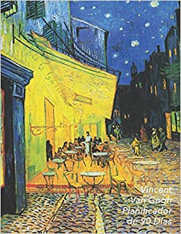 Vincent Van Gogh Planificador De 90 Días Terraza De Café