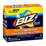 BIZ Stain & Odor Eliminator Laundry Detergent Powder (80 oz.) - Pack of 6