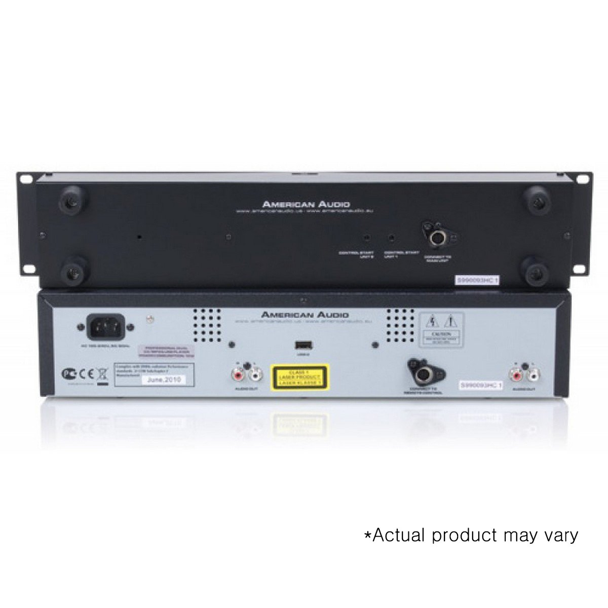 American Audio UCD 200 MK II | Dual CD MP3 Player USB Playback by American Audio