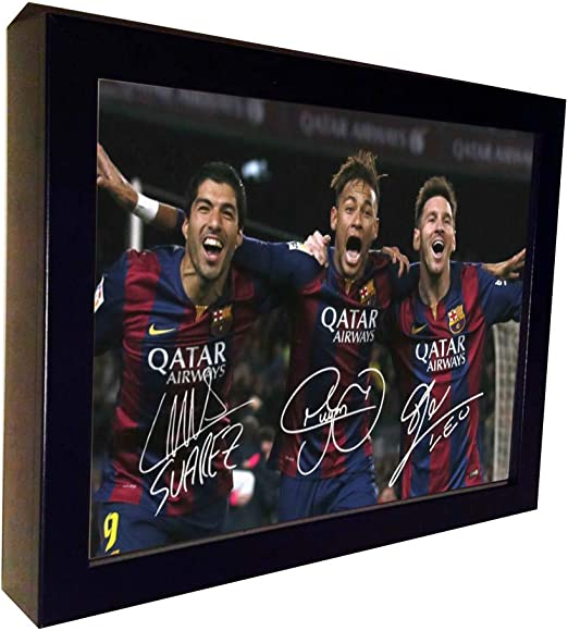 Lionel Messi Signed Mounted Photo Display Barcelona FC