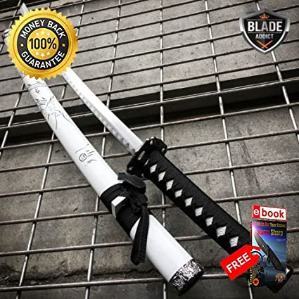 Japanese Samurai Sword KATANA High Carbon Steel Ninja Blade ...