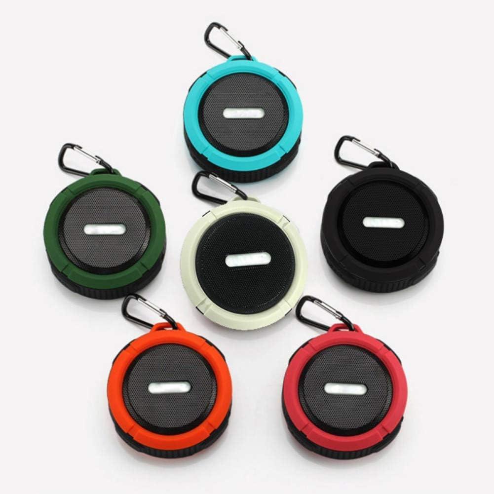 Cascaba C6 Big Sucker Mini Bluetooth Stereo Outdoor Bluetooth Speaker Adsorption subwoofer Program Orange