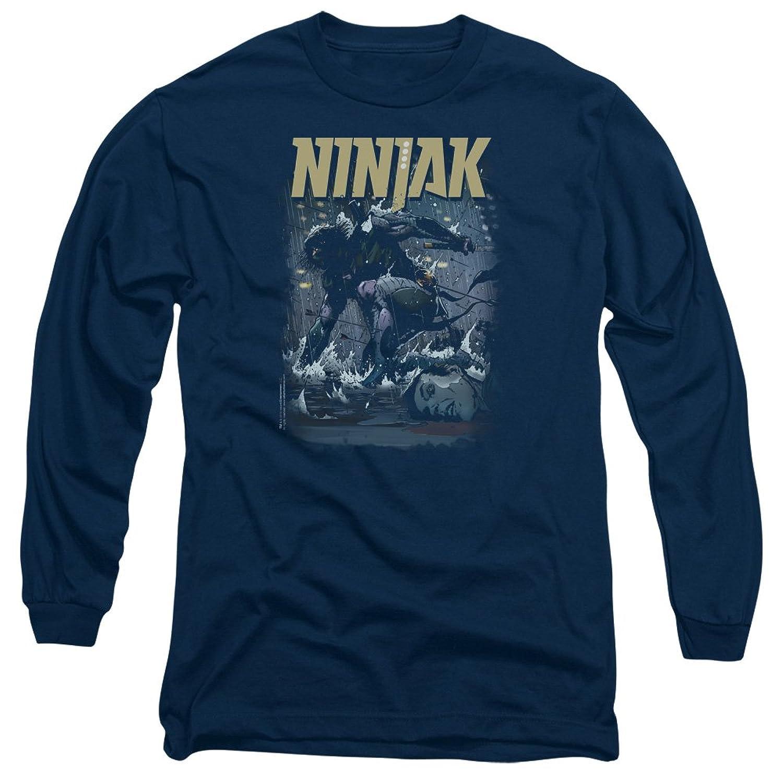 Ninjak - Mens Rainy Night Ninjak Long Sleeve T-Shirt