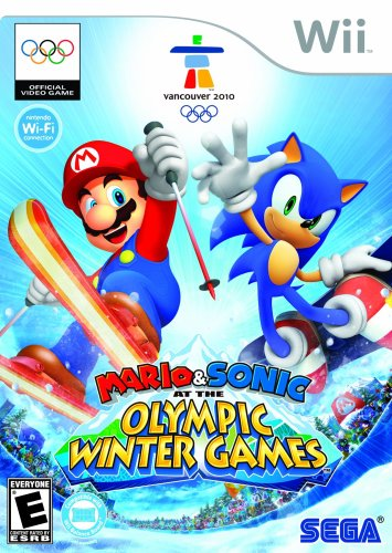 Mario and Sonic at the Olympic Winter Games - Nintendo Wii by Sega
