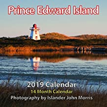 "2019 Prince Edward Island 6.5""x6.5"" Monthly Wall Calendar"