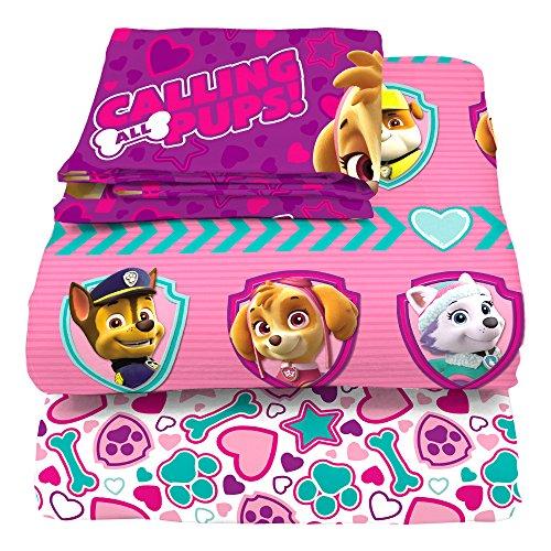 Nickelodeon Paw Patrol Puptacular Sheet Set, Twin, 3 Piece